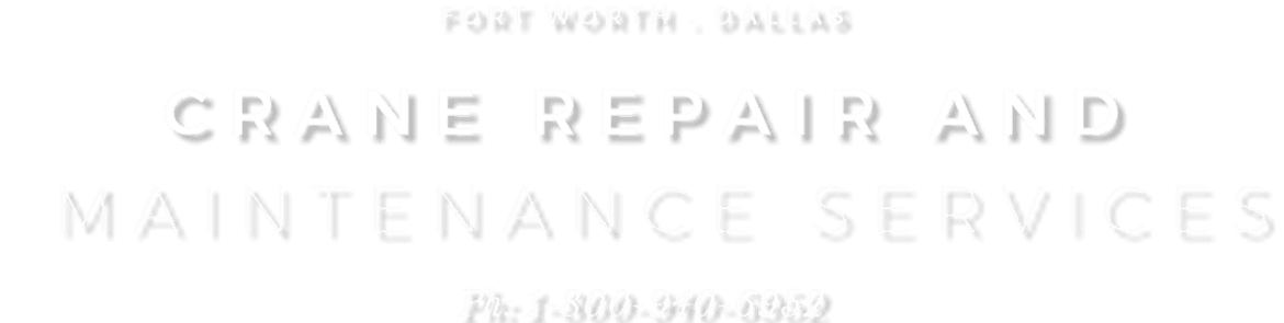 Advantage Crane Service, DFW's Number One Source for All Your Crane